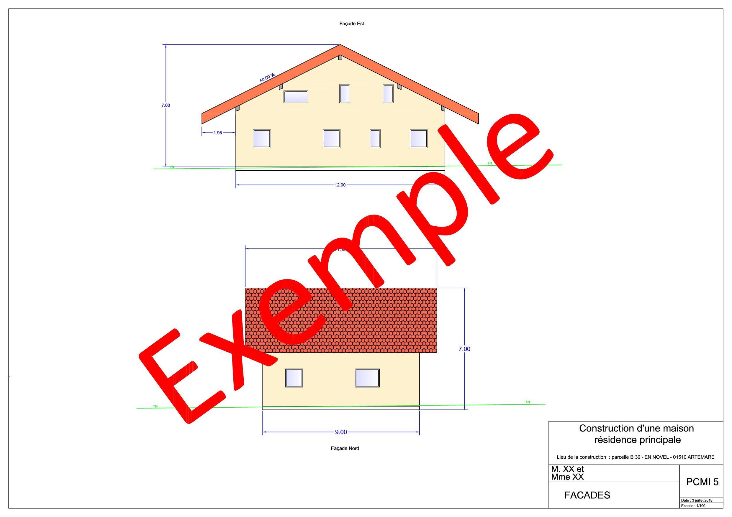 7 Plan des façades et toitures n°1 (pcmi5 obligatoire)