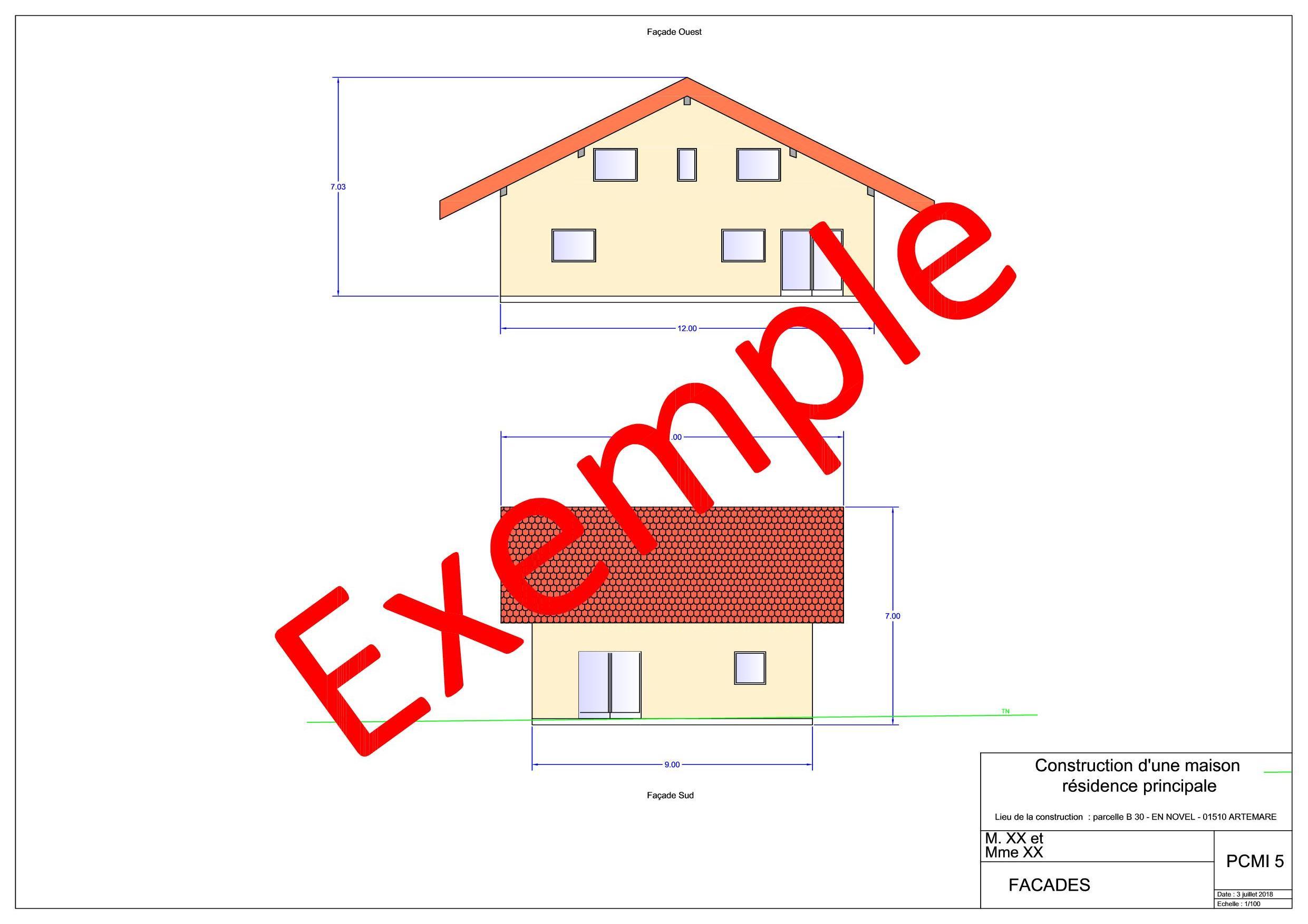 8 Plan des façades et toitures n°2 (pcmi5 obligatoire)