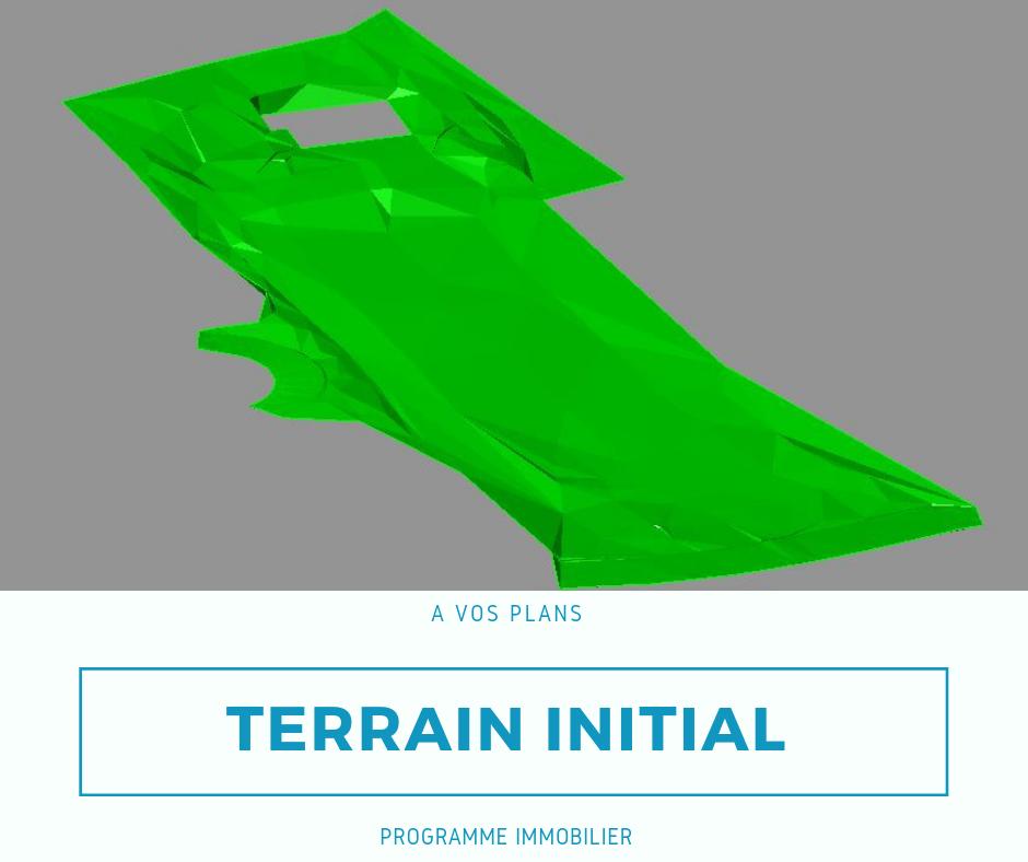 terrain initiale