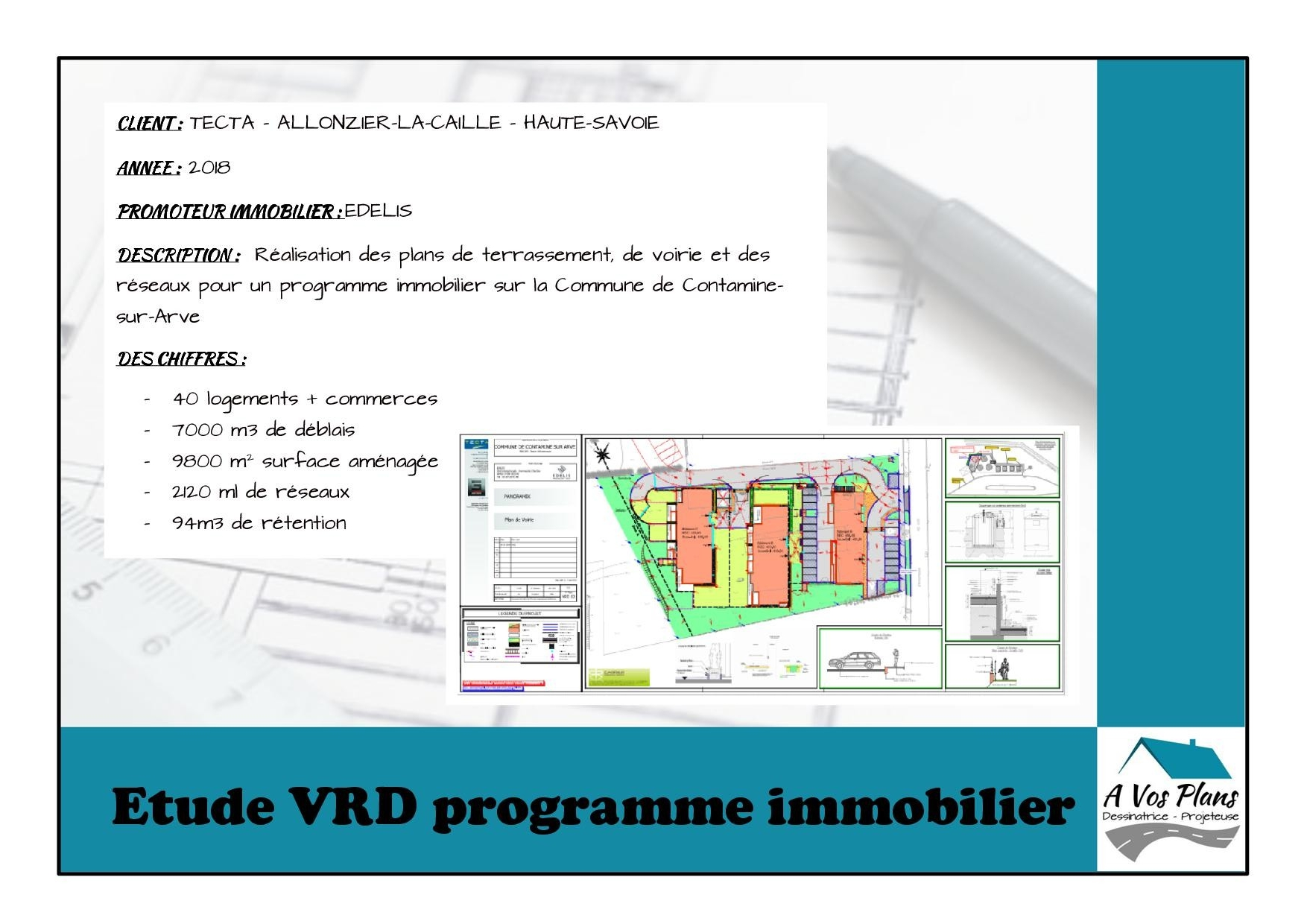 Ref 2018 TECTA PROGRAMME IMMOBILIER CONTAMINE