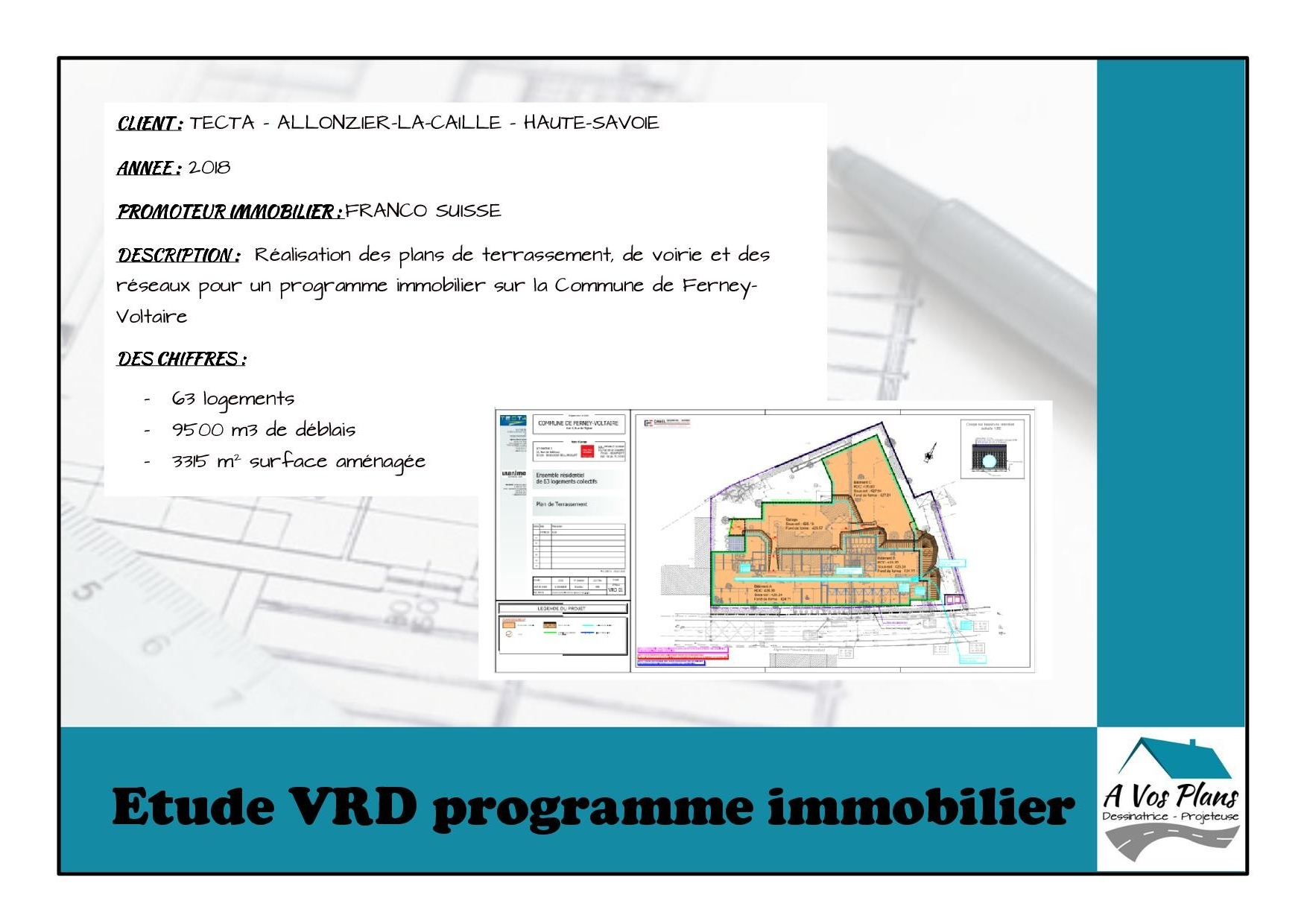Ref 2018 TECTA PROGRAMME IMMOBILIER FERNEY-VOLTAIRE