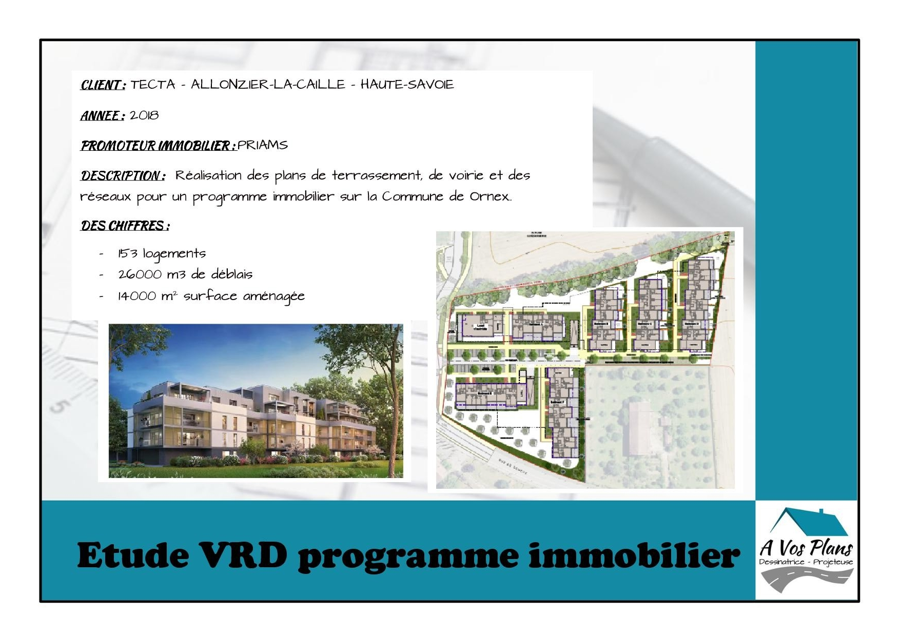 Ref 2018 TECTA PROGRAMME IMMOBILIER ORNEX
