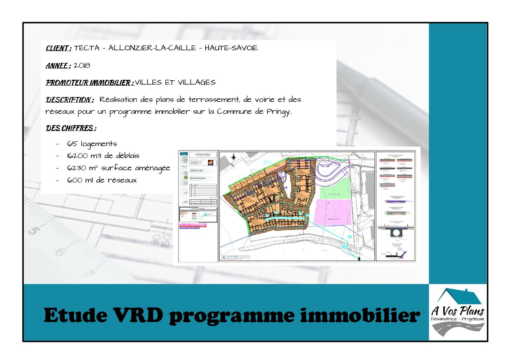Ref 2018 TECTA PROGRAMME IMMOBILIER PRINGY