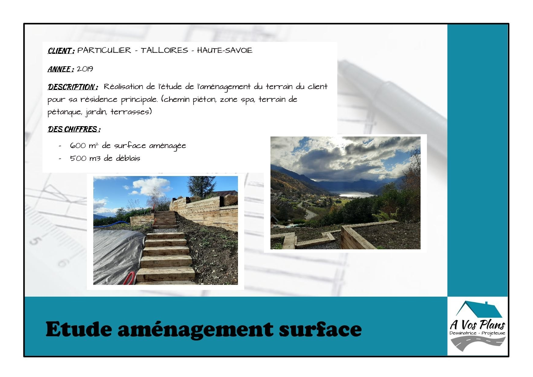 Ref 2019 PARTICULIER AMENAGEMENT TERRAIN