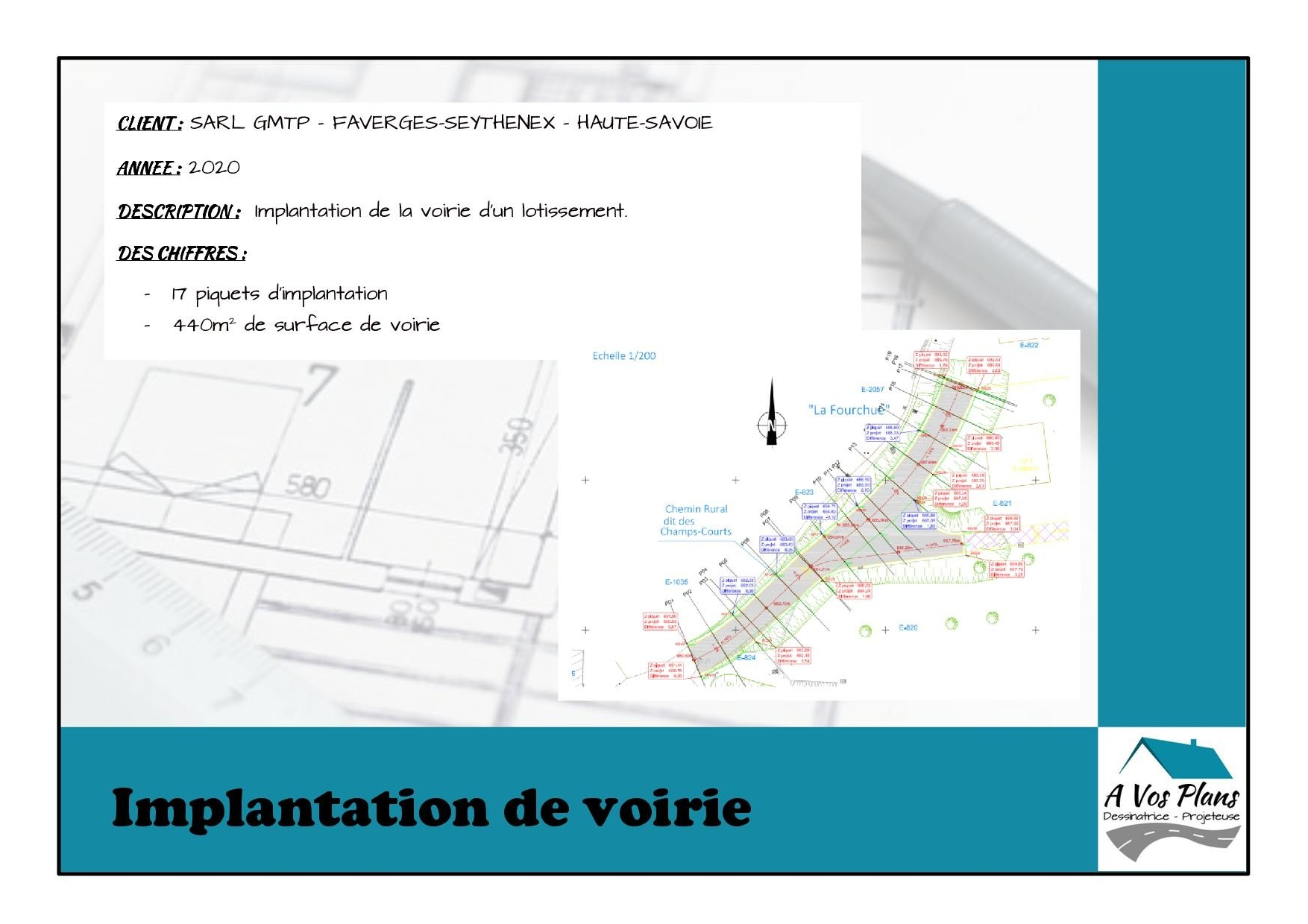 Ref 2020 GMTP IMPLANTATION VOIRIE